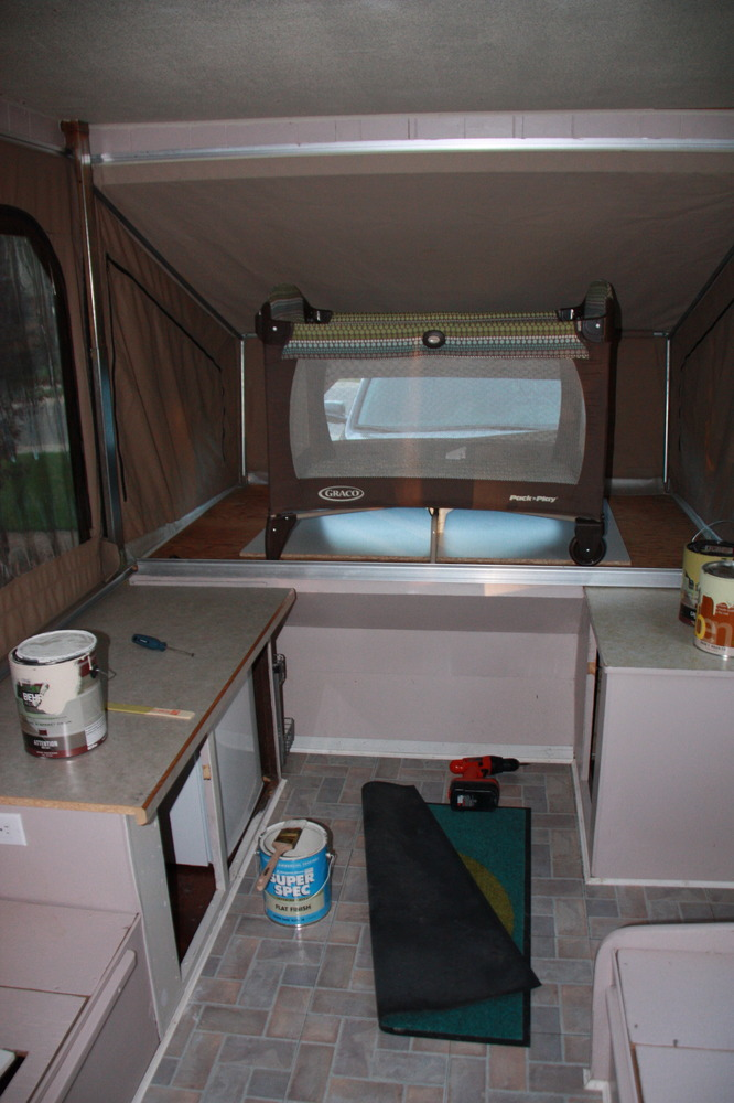 Tent Trailer Makeover Beckymakes