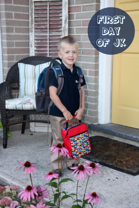 Myles First Day JK